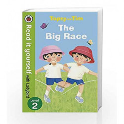 Read It Yourself Topsy and Tim the Big Race by NA Book-9780723273851