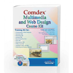 Comdex Multimedia and Web Design Course Kit: (CS6) by Vikas Gupta Book-9789351190844