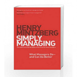 Simply Managing by Mintzberg Henry Book-9781626561311