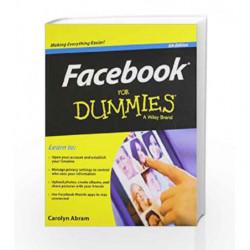 Facebook for Dummies by CAROLYN ABRAM Book-9788126544394