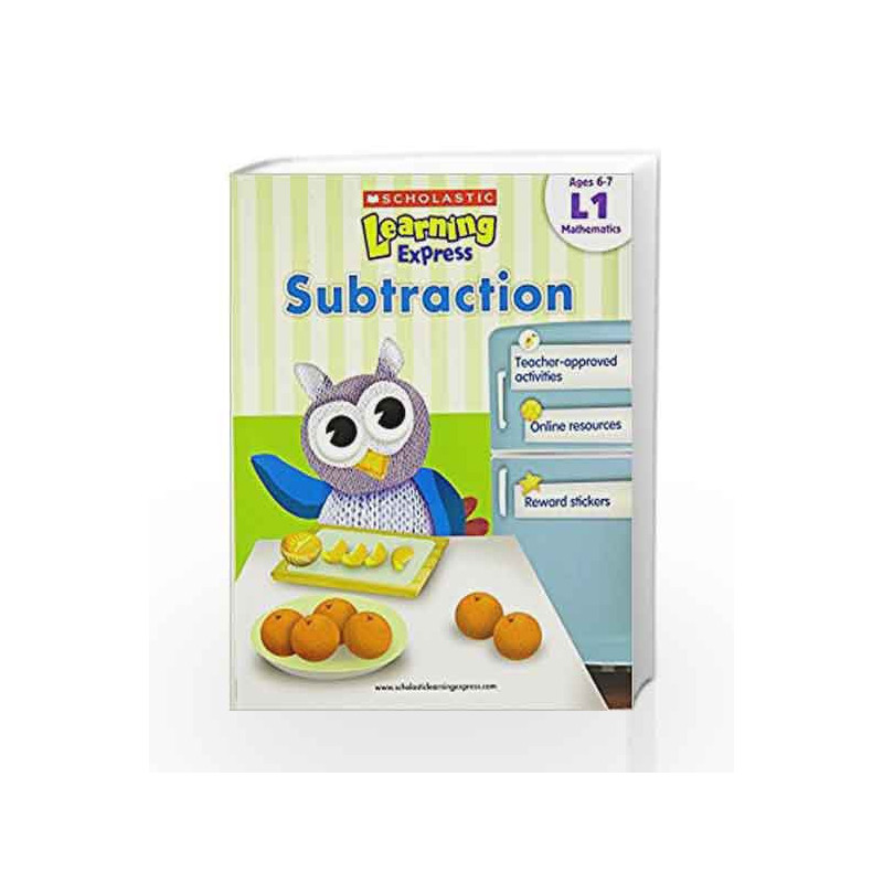 Learning Express - Subtraction (Level - 1) (Scholastic Learning Express) by NA Book-9789810713621
