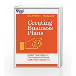 Creating Business Plans (20-Minute Manager) by HARVARD BUSINESS REVIEW Book-9781625272225