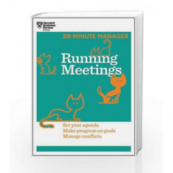 Running Meetings (20-Minute Manager) by HARVARD BUSINESS REVIEW Book-9781625272256