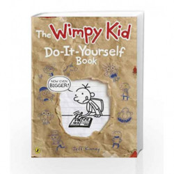 Diary of a Wimpy Kid: Do-it-Yourself Book by Jeff Kinney Book-9780141355108