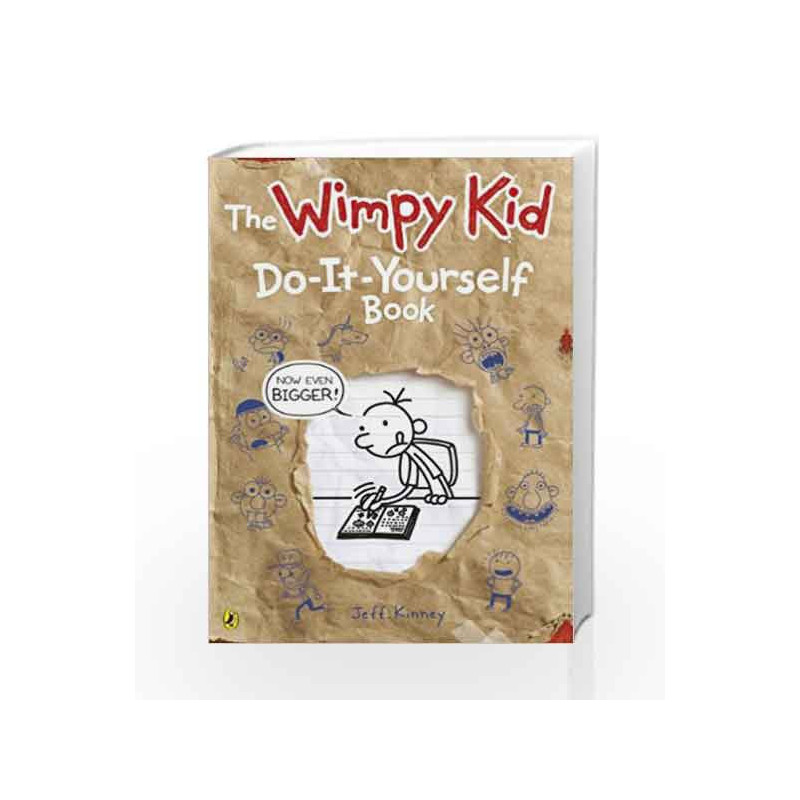 Diary of a wimpy kid do it yourself book by jeff kinney buy online diary of a wimpy kid do it yourself book by jeff kinney book solutioingenieria Gallery