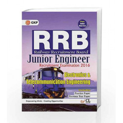 Guide to RRB Electronics& Communication Engineering (Junior Engg.) 2016 by GKP Book-9789351450030