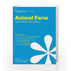 Animal Farm SparkNotes Literature Guide by Orwell, George Book-9781411469426