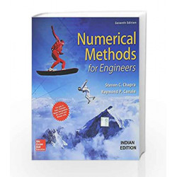 Numerical Methods for Engineers by Canale Chapra Book-9789352602131
