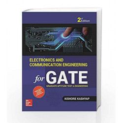 Electronics and Communication Engineering for GATE by Kishore Kashyap Book-9789352602216