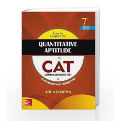 How to Prepare for Quantitative Aptitude for the CAT by Arun Sharma Book-9789352602247