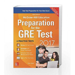 Preparation for the GRE Test 2017 by Erfun Geula Book-9789352602698