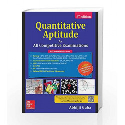 Quantitative  Aptitude for All Competitive Examinations by  Book-9789352604371