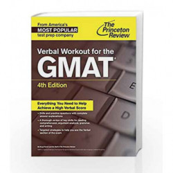 Verbal Workout for the GMAT (Graduate School Test Preparation) by PRINCETON REVIEW Book-9781101881651