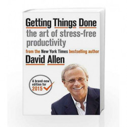 Getting Things Done: The Art of Stress-free Productivity by Allen, David Book-9780349410159