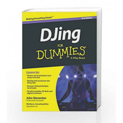 DJing for Dummies, 3ed by John Steventon Book-9788126553419