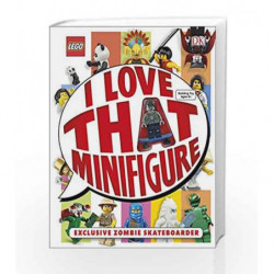 I Love that Minifigure (Lego) by DK Book-9780241196892