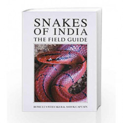 Snakes of India: The Field Guide by ASHOK CAPTAIN & ROMULUS WHITAKER Book-9789385724237