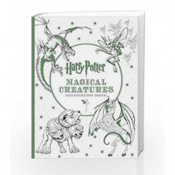 Harry Potter Magical Creatures Colouring Book by NA Book-9781608878703