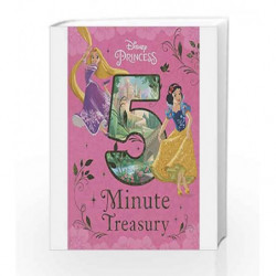 Disney Princess 5-Minute Treasury (Disney Bedtime 5 Minute) by Parragon Books Ltd Book-9781472382313