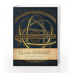 Game of Thrones: Deluxe Hardcover Sketchbook (Insights Deluxe Sketchbooks) by HBO Book-9781608877447