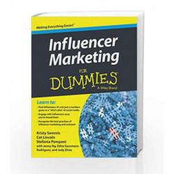 Influencer Marketing for Dummies by Kristy Sammis Book-9788126560554