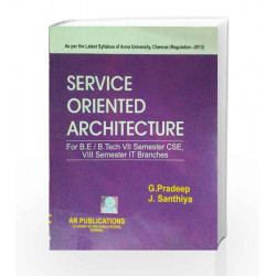 Service Oriented Architecture by G.Pradeep Book-9789384634681