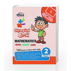 Olympiad Champs Mathematics Class 2 with 5 Online Mock Tests by Disha Experts Book-9789384905910