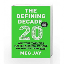 The Defining Decade by Meg Jay Book-9781782114925