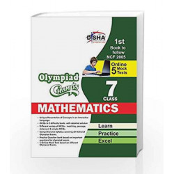 Olympiad Champs Mathematics with 5 Mock Online Olympiad Tests (Class VII) by Disha Experts Book-9789385576201