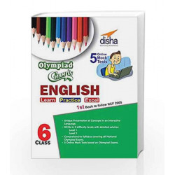 Olympiad Champs English Class 6 with 5 Mock Online Olympiad Tests by Disha Experts Book-9789385576256