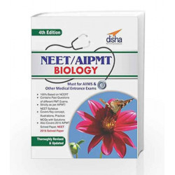 NEET/AIPMT Biology (Must for AIIMS & Other Medical Entrance Exams) by Disha Experts Book-9789385846984