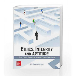 Ethics, Integrity and Aptitude by M Karthikeyan Book-9789385880148