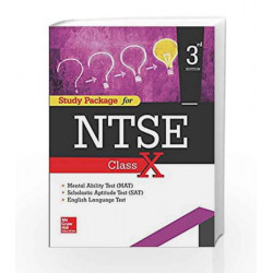 Study Package For NTSE Class X by Mc graw hill Book-9789385965289