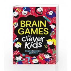 Brain Games for Clever Kids by MOORE GARETH Book-9781780552491