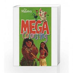 Disney Moana Mega Colouring by DISNEY Book-9781474852814