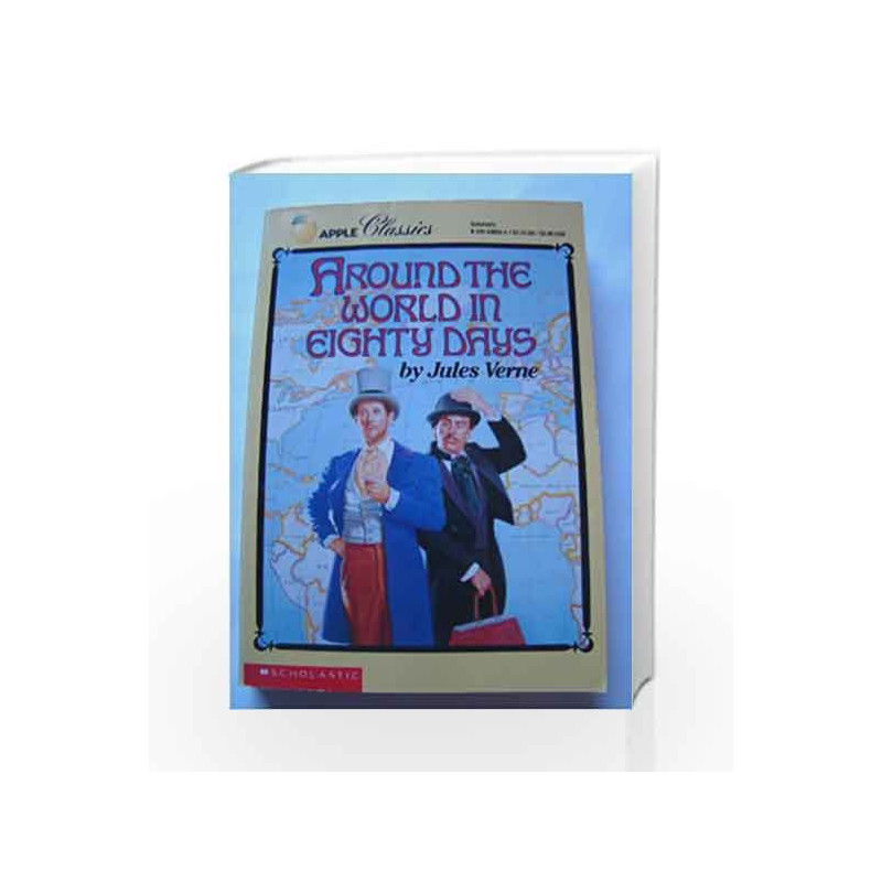 Around The World In Eighty Days by JULES VERNE Book-9781509849093