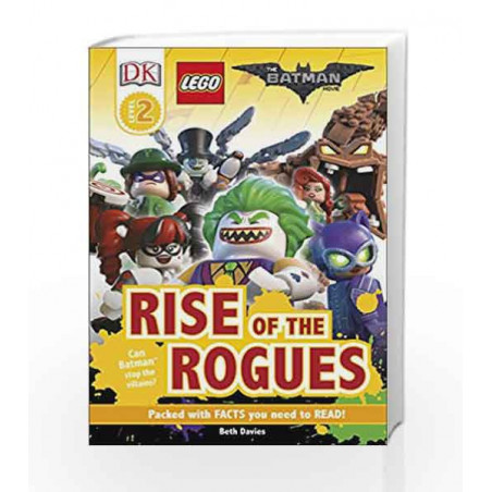DK Reader Level 2: The Lego Batman Movie Rise of the ...