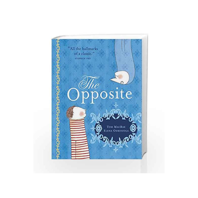 The Opposite by Tom Macrae Book-9781842705735