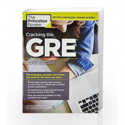 Cracking the GRE with 4 Practice Tests (Graduate School Test Preparation) by PRINCETON REVIEW Book-9780451487674