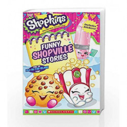 Shopkins - Funny Shopville Stories by Scholastic Book-9789352751082