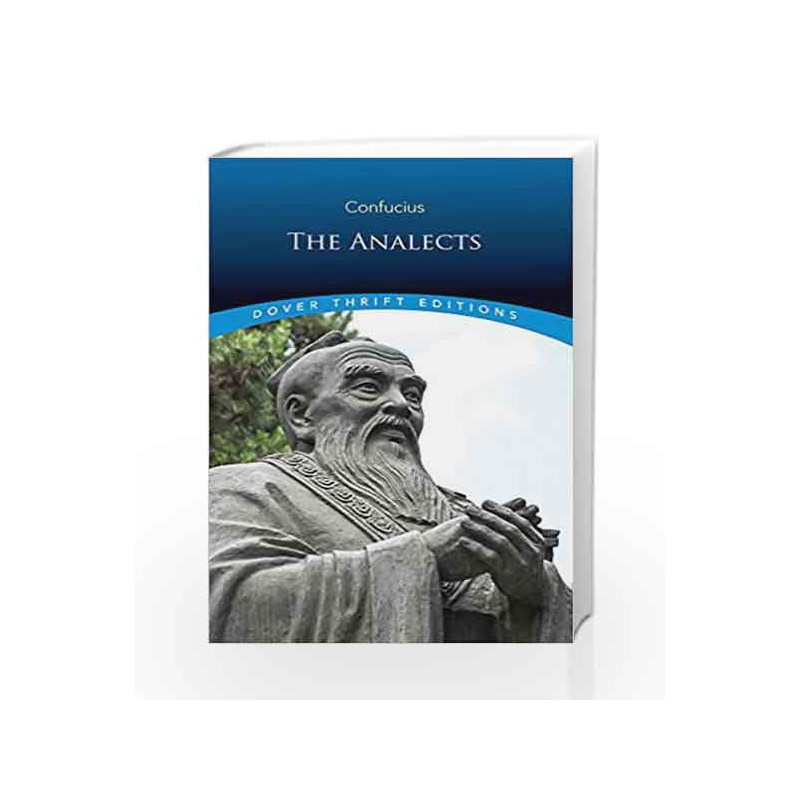 The Analects (Dover Thrift Editions) by Confucius Book-9780486284842