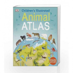 Children's Illustrated Animal Atlas by DK Book-9780241283851