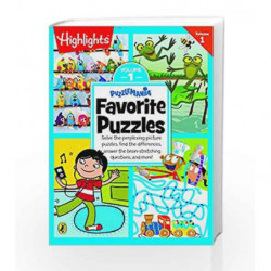 Puzzlemania Favorite Puzzles - Vol 1 by NA Book-9780143429395