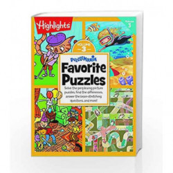 Puzzlemania Favorite Puzzles - Vol 3 by NA Book-9780143429418
