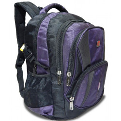 Tycoon Bags Purple colored with Black 19inch Laptop Backpack (1682) for School,college and office