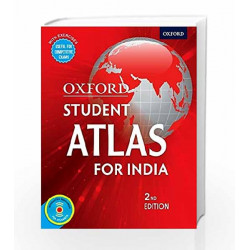 Oxford Student Atlas for India by Oxford Book-9780199450435