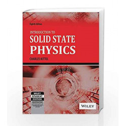 Introduction to Solid State Physics, 8ed by  Book-9788126535187