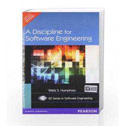 A DISCIPLINE FOR SOFTWARE ENGINEERING by HUMPHREY Book-9788131703809