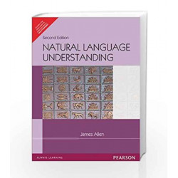 Natural Language Understanding by James Allen Book-9788131708958