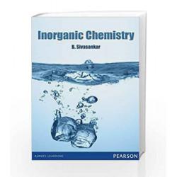 Inorganic Chemistry by SIVASANKAR. Book-9788131799062